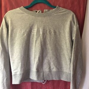 Bebe grey sweater